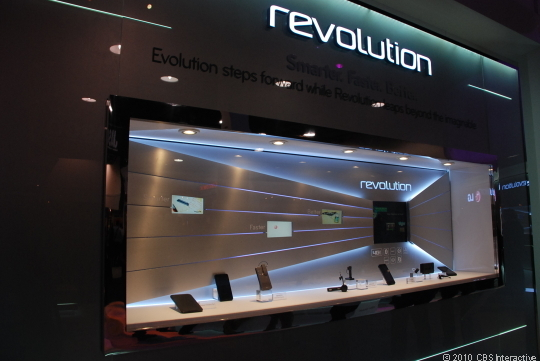 Nové Smart telefony na CES 2011 - fotogalerie