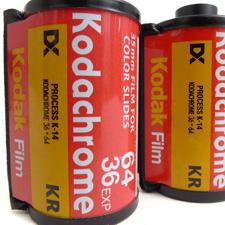 Kodak oznámil ukončení prodeje KodakChrome