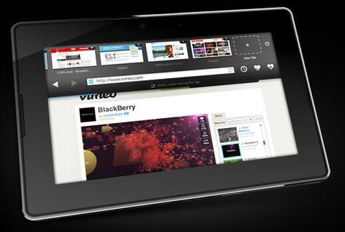 Podívejte se na Demo tabletu Playbook od BlackBerry