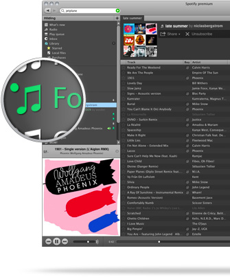 Tržby prodeje digitální hudby v roce 2011