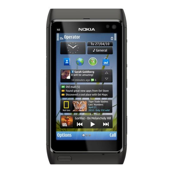 Mobilní telefon Nokia N8 s dotykovým OLED displejem
