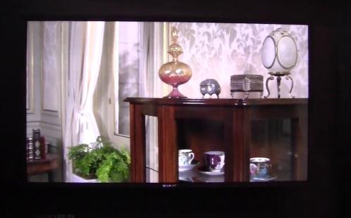 Video CES 2012 - Společnost Sharp představila televizor s novou technologií rozlišení 4K