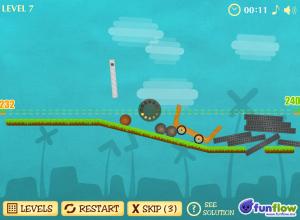 Construction Fail: výtečná logická hra v prohlížeči