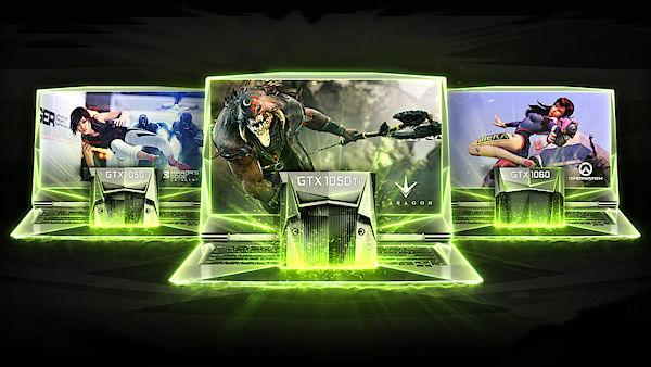 Mobilní herní grafiky od Nvidia se ukázaly na veletrhu CES 2017