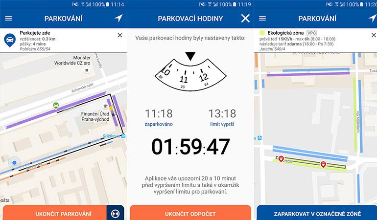 Top 5 aplikací pro bezstarostné parkování