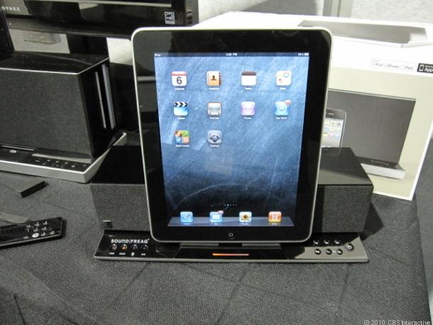 Zvukové zařízení s podporou iPad představeno na CES 2011