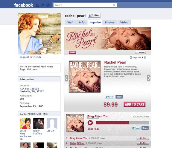 Jak koupit,prodat a poslouchat hudbu přímo na Facebooku