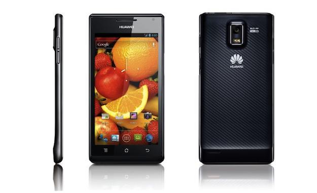 Na Ces 2012 byl představen nejtenčí Smartphone Huawei Ascend P1 S